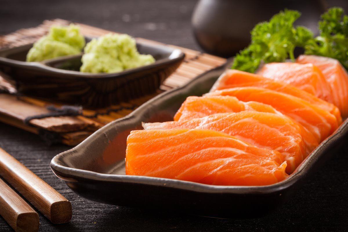 Smoked Salmon and Nori Rolls