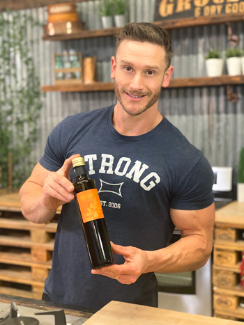 Thomas DeLauer and the Fresh-Pressed Olive Oil Club