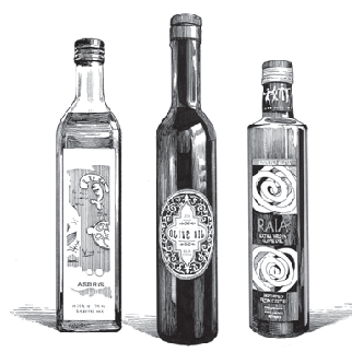 Three Olive Oils from the Fresh Pressed Olive Oil Club