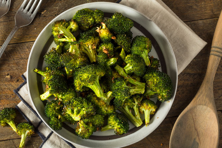 Fancy Roasted Broccoli