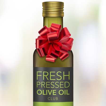 Send the Gift of Fresh Pressed Olive Oil