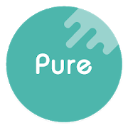 Pure Icon Pack: Minimalist & Colorful & Clean icon