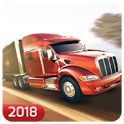 Cargo Transport Truck Driver Games 2018 icon