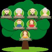 Family Tree : design a family tree free icon
