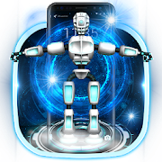 3D Future Robot Lock Screen Theme icon