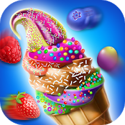 Cooking ice cream maker icon