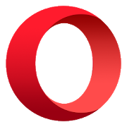 Opera browser with free VPN icon