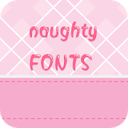 Naughty Font for FlipFont , Cool Fonts Text Free icon