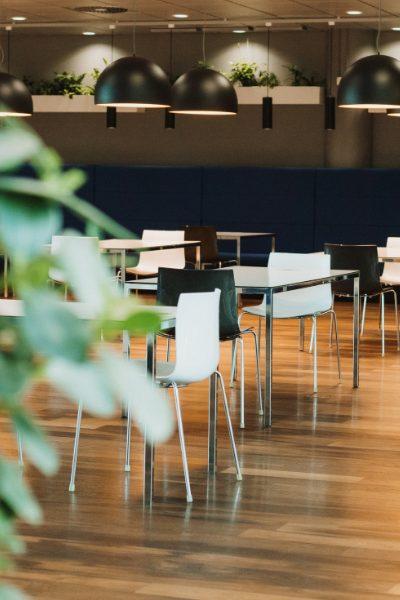 Danske Bank office canteen in Helsinki
