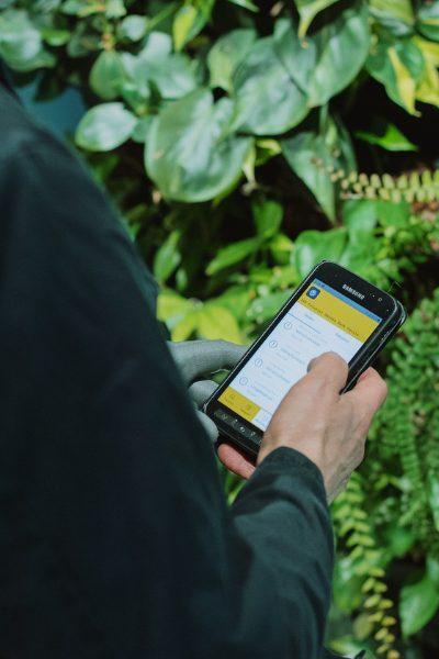 Chefstein task list on mobile device is part of digital kitchen management