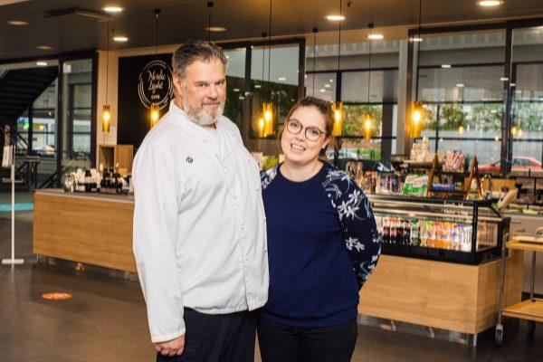 Ravintola Fero Timo Jyrkkänen ja Mira Aarnio vähentävät ruokahävikkiä monin keinoin