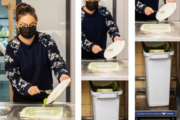 Chefstein Smart Scale measures food waste at Fero restaurant