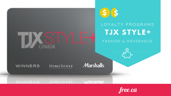 TJX Style + Card: Exclusive Rewards for Winners, HomeSense, & Marshalls