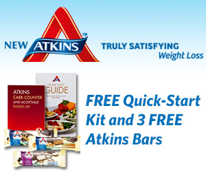 Join Atkins for Great Freebies