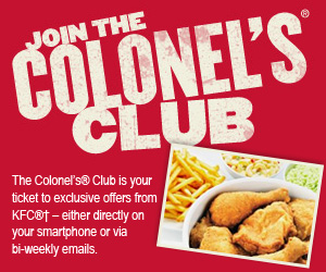 Join the Colonel's Club