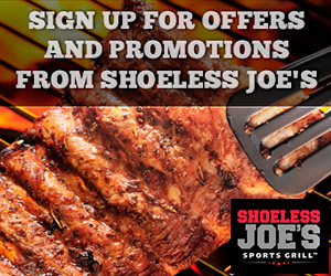 Join the Shoeless Joe's E-Team