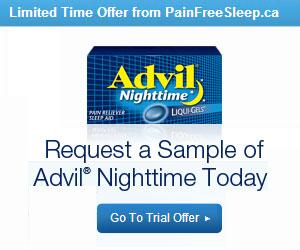 Free Sample of Advil Nighttime