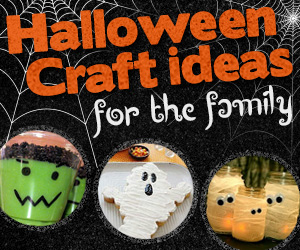Halloween Craft Ideas for the Whole Family