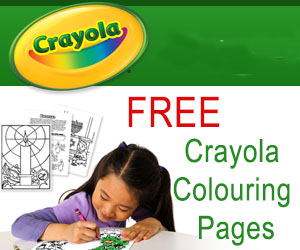 Free Crayola Colouring Pages