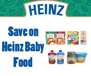 Save on Heinz Baby Food