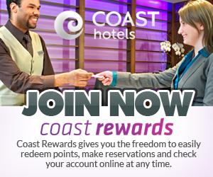 Coast Hotels & Resorts Coast Rewards