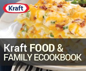 Kraft Food & Family eCookbook