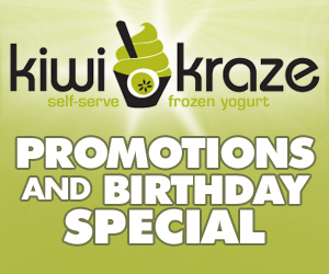 Promotions and Birthday Special