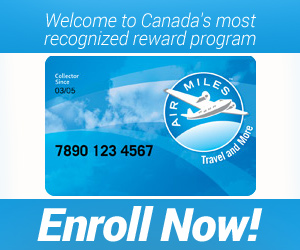 Collect & Redeem Air Miles
