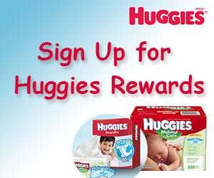 Sign Up for Huggies Rewards