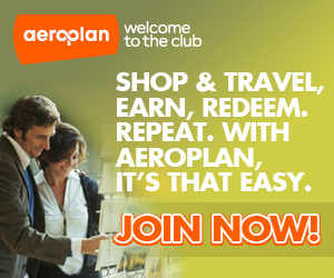Start Collecting Aeroplan Points