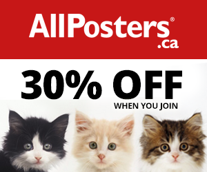 Join AllPosters and Get 30% off