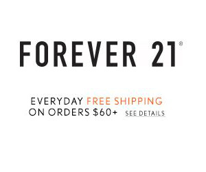 Get Free Shipping at Forever 21