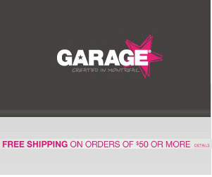Get Free Shipping at Garage