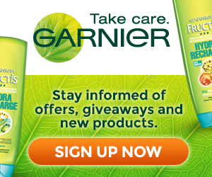 Sign Up for the Garnier Newsletter