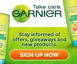 Sign Up for the Garnier Newsletter