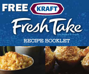 Free Kraft Fresh Take Recipe Booklet