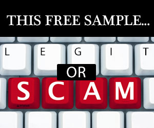 Is This Free Sample Legitimate or a Scam?