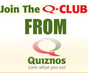Join The Q-Club from Quiznos