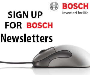 Sign Up for Bosch Newsletters