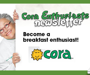 Sign Up for Cora's Newsletter