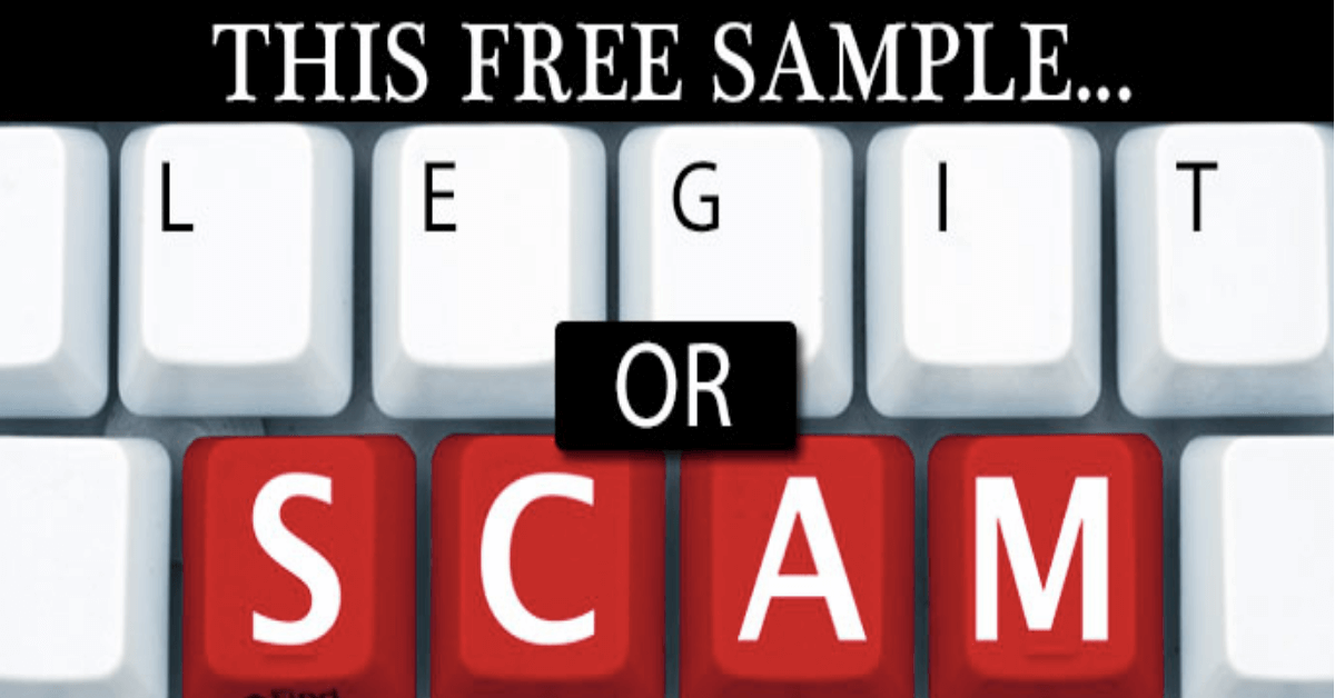 free sample legitimate