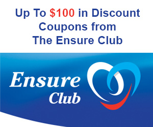 Get Up to $100 in Discount Coupons from the Ensure Club