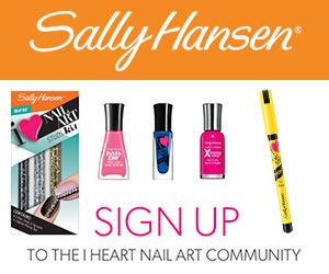 Sally Hansen I Heart Nail Art Community