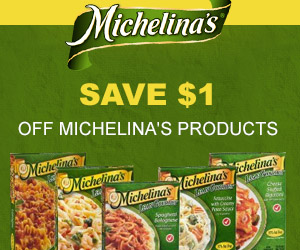 Save $1 off Michelina's Products