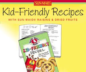 Free Kid-Friendly Recipes from Sun-Maid