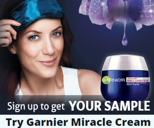 Free Garnier Miracle Cream Sample
