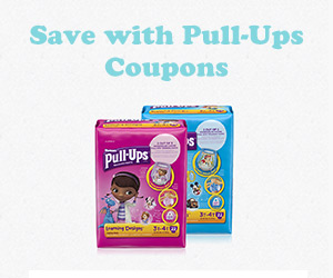 Save with Pull-Ups Coupons