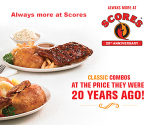 Scores 20th Anniversary Promotion