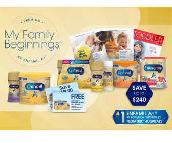Sign Up and Save with Enfamil Family Beginnings