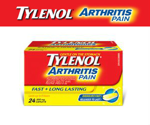 Tylenol Arthritis Pain Sample